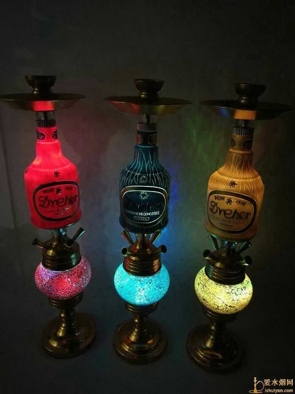 酒吧阿拉伯水烟壶