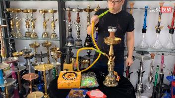阿拉伯水烟壶基本操作使用教学视频