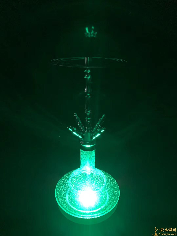 新款底座灯,可搭配大部分水烟壶