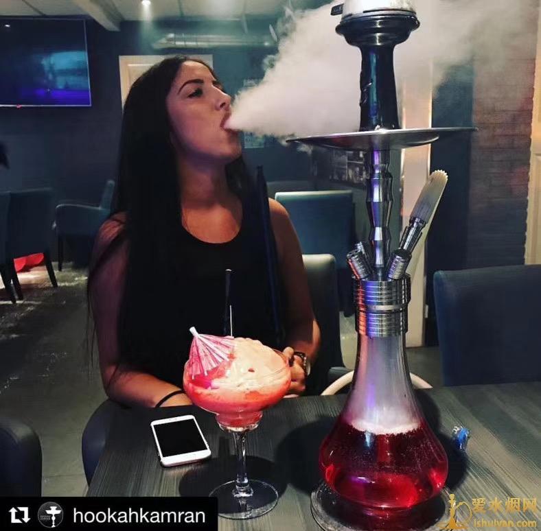 酒吧阿拉伯水烟烟雾量小的原因